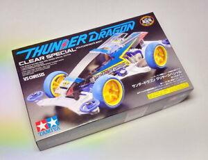 Tamiya Model Mini 4WD Racing Car 1/32 Thunder Dragon Clear Special VS 95336