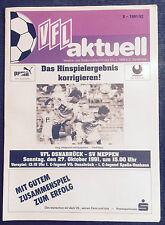 II BL 91/92 VfL Osnabrück - SV Meppen, 27.10.1991