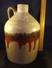 "Rogers Collection 10"" Pottery Jug. Canadian Pottery. In Great Condition. #1096"