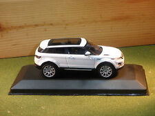 LAND ROVER RANGE ROVER EVOQUE COUPE IN BIANCO 2011 1/43rd SCALA Whitebox