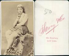 Sarony, New York, actrice à identifier vintage CDV albumen carte de visite,  C