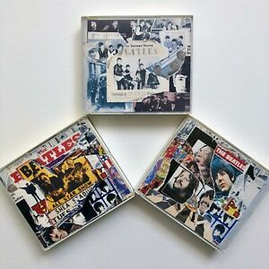 Beatles ANTHOLOGY Vols. 1, 2, 3 - Six CDs with Booklets - Complete