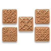 Medieval Squares Soap Mold. Melt & Pour, Cold Process w/Instructions