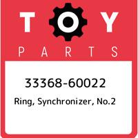 33368-60022 Toyota Ring, synchronizer, no.2 3336860022, New Genuine OEM Part