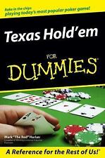 Texas Hold'em For Dummies (For Dummies (Sports & Hobbies))