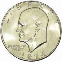 1974 P $ 1 Dollar Eisenhower Bicentennial BU Ike US Mint Coin