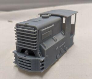 O-16.5 KATOWORKS 4T Bong Bong Mining Locomotive Body For Tenshodo Power Truck