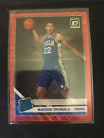 2019-20 Optic Matisse Thybulle Red Wave Holo Prizm SHORT PRINT Rated Rookie