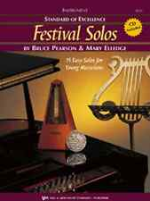 """Standard Of Excellence """"Festival Solos"""" Music Book/Cd Trombone Brand New On Sale"""