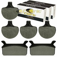 FRONT and REAR BRAKE PADS FIT HARLEY DAVIDSON FLHTCU ELECTRA GLIDE ULTRA CLASSIC