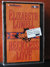 Reckless Love by Elizabeth Lowell - 2000 audio Cassette -Abridged 6 Hours