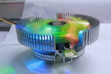 NEEDCOOL X600 65W 3 PIN RGB LED CPU COOLER FAN & HEATSINK for LGA 775 115X & AMD