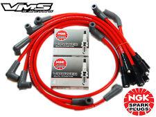 VMS RACING 10.2MM SPARK PLUG WIRES SET 93-97 CHEVROLET CAMARO LT1 W/ NGK V-POWER