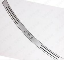 Mazda CX-5 2012 to 2015 High Quality Stainless Steel Rear bumper Protector Sill