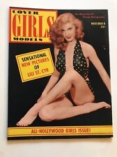 Pre-Owned Cover Girls Models  Magazine November 1952 - New Photos Lili St. Cyr -