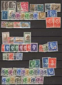 Dutch Indies lot MH stamps
