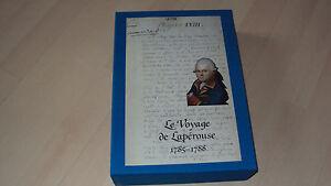 coffret de 2 livres LE VOYAGE DE LAPEROUSE 1785-1788