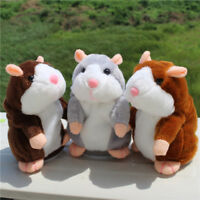 Talking Hamster Mouse Pet Plush Cute Toys Speak Sound Record Education Kids Gift