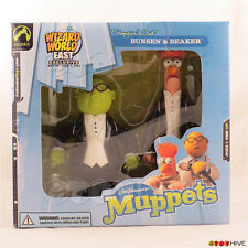 Muppets Palisades Steppin' Out Bunsen Honeydew Beaker Wizard World 2003 worn box