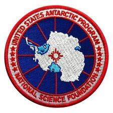 Usa Antarctic Program Usap Logo Embroidered Iron on Sew on Patch