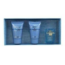 Eau Fraiche Mini Set By Versace For Men Set: EDT + Shower Gel + After Shave Balm