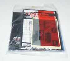 Red Alert PACKET Sticker Decal Sheet Stickers 1985 G1 Transformers Vintage