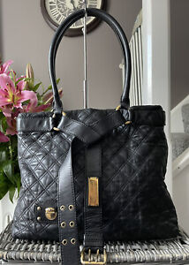 Beautiful Genuine Marc Jacobs large Quilted leather Tote Bag handbag
