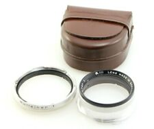 Rolleiflex Bay III Rolleinar 1 Close Up Filter Set. Bay 3. Ideal for 2.8F
