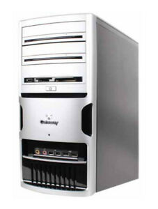 GATEWAY GT5032 TOWER AMD ATHLON 64 X2 DC 4200+ 2.6GHz 3.5GB 250GB Factory Recond