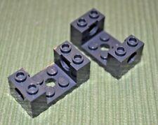 Gear Box ~ Lego ~ NEW 4 1x2 Dark Gray Brick w/ Technic Connector Arms