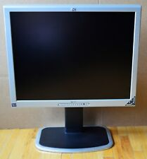 "MONITOR HP MODEL 2035 20"" LCD MONITOR WITH STAND AND VGA CABLE WORKS GREAT"
