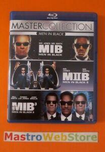MEN BLACK - MASTER COLLECTION - TRILOGIA - SONY PICTURES - BOX 3 BLU-RAY [dv16]
