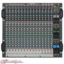 Crest Audio X 20RM Mixer Professional Monitor Console X-Series 20 Inputs
