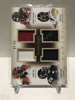 2014 Panini Immaculate Quad Rookie Relic Hill/Carey/Freeman/Archer #4-RRB2 /99