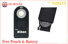 IR Télécommande sans fil pour NIKON comme MLL3 D50 D60 D70 D70S D80, F55 F65 F75