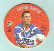 1995 RUGBY LEAGUE  TAZO / POG #8  JASON SMITH, CANTERBURY BULLDOGS