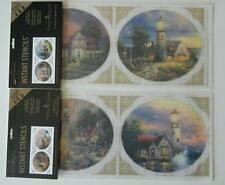 Victorian Lighthouse + Storm Peace Hope Imperial Instant Stencils Thomas Kinkade