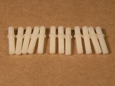 """Fiber """"O"""" Gauge Insulating Track Pins for Lionel Trains Tubular Track"""