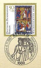 Berlin 1987: Weihnachtsmarke Nr. 797 mit sauberem Ersttags-Sonderstempel! 1A!
