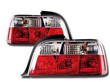 2 FEUX FEU ARRIERE M3 CRYSTAL BMW SERIE 3 E36 CABRIOLET CAB