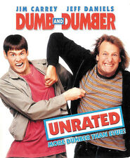 Dumb And Dumber Unrated ~ Jim Carrey Jeff Daniels ~ Blu-ray ~ FREE Shipping USA