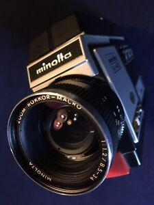 SUPERB Minolta XL 400 Super 8 Movie Camera Cine Film Tested 100% Working!