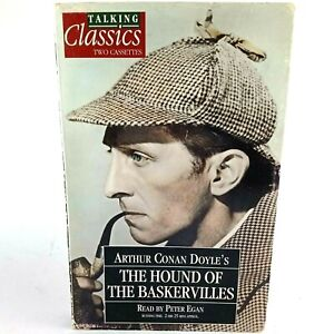 The Hound of the Baskervilles Read by Peter Egan Cassette Tape Audio Book