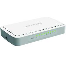 NETGEAR GS608-400PES 8-Port Gigabit Unmanaged Switch Netzwerk Lan bis 1000 Mbit