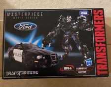 Takara Tomy Hasbro Transformers Masterpiece MPM-5 Barricade MIB Authentic No KO
