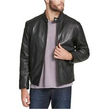 New Leather Marc New York Leather Motorcycle Moto Jacket Small Black