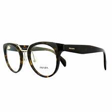Prada Glasses Frames PR03UV 2AU1O1 Havana 49mm Womens Optical Frame