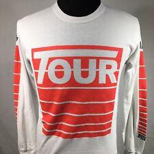 Justin Bieber Stadium Tour Adult Small Long Sleeve Shirt Concert Red Merch 2017