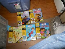 Leapfrog My First Leap Pad LOT OF 5  Books & Cartridges Learning Sys Preschool