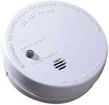 Smoke Detector Fire Alarm Home Security Ionization Sensor Battery Operated 9V